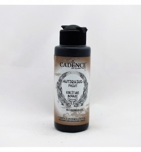 Farba postarzająca Antiquing Paint Cadence BORDOWA 120ml