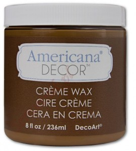 Wosk Americana Decor Creme Wax Golden Brown 236ml ADM02