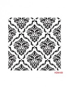 Szablon 25x25cm Cadence Home Decor HDM 69 DAMASCEŃSKIE ORNAMENTY