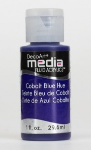 Fluid akrylowy DecoArt Fluid Acrylics COBALT BLUE HUE 29,6ml