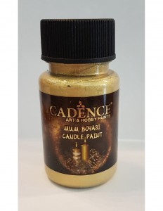 Farba do świec Cadence Candle Paint SILVER GOLD 59ml
