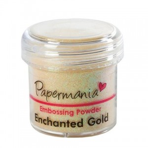 Puder do embossingu Papermania Embossing Powder ENCHANTED GOLD 30g