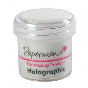 Puder do embossingu Papermania Embossing Powder HOLOGRAPHIC 30g