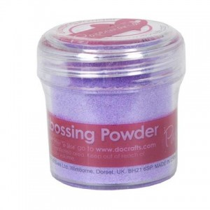 Puder do embossingu Papermania Embossing Powder LILA 30g