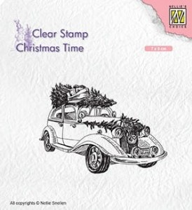 Stempel akrylowy Nellie's Choice Clear Stamp CHRISTMAS TIME CT031