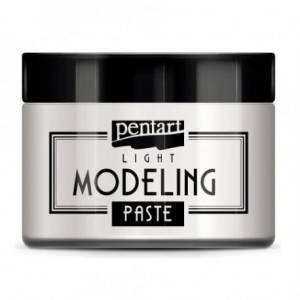 Lekka pasta strukturalna 3D Pentart MODELING PASTE LIGHT do struktur i foremek 150ml