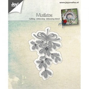 Wykrojnik do wycinania Joy! Crafts Cutting stencil 6002/0684 MISTLETOE