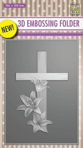 Folder do wytłaczania 3D Nellie's Choice EF3D10 3D EMBOSSING FOLDER (1)