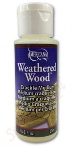 Jednoskładnikowy preparat do spękań DecoArt Weathered Wood 59ml DAS8