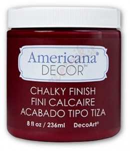 Farba kredowa Americana Decor Chalky Finish ADC07 ROUGE 236ml