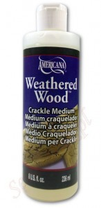 Jednoskładnikowy preparat do spękań DecoArt Weathered Wood 236ml DAS8