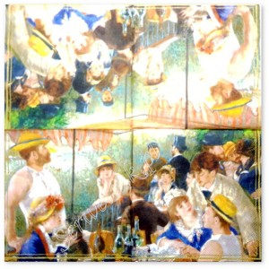 "Serwetka do decoupage 3693 Renoir ""Party na łodzi"""