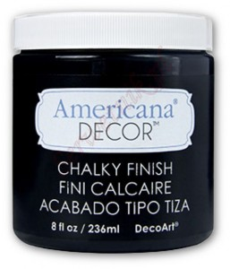 Farba kredowa Americana Decor Chalky Finish CARBON 236ml ADC29