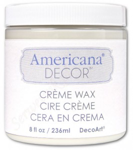 Wosk Americana Decor Creme Wax Clear 236ml ADM01