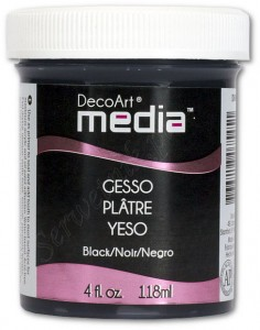 Gesso primer DecoArt Media czarny 118ml