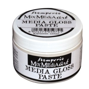 Pasta strukturalna żelowa Stamperia Media GLOSS GEL PASTE 150ml